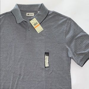Men's Haggar Polo Gray size S